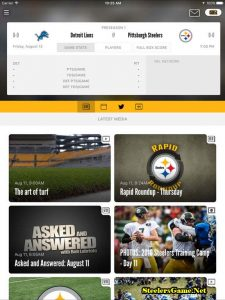 Pittsburgh Steelers Apps 2017