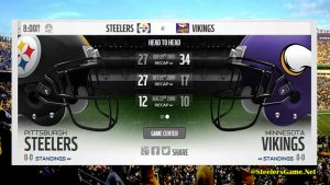 Pittsburgh Steelers Live Score 2017