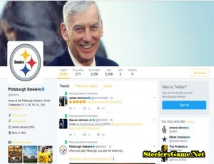 Pittsburgh Steelers Official Twitter Page