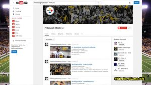 Pittsburgh Steelers YouTube Fans