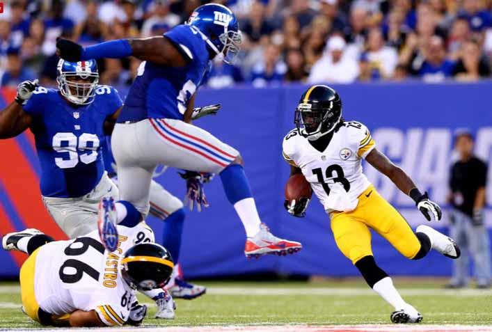 Pittsburgh Steelers Vs New York Giants Preseason 2017 Week 1